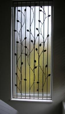 Wrought iron window grilles - Decorative window grills ...